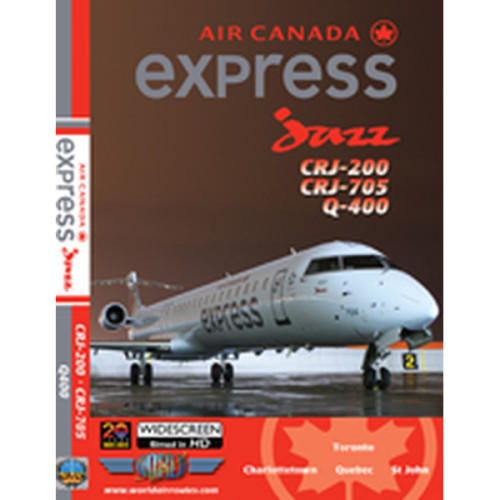 Air Canada express jazz DVD - CRJ-200, CRJ-705 & Q-400