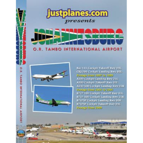 Johannesburg O.R. Tambo International Airport DVD