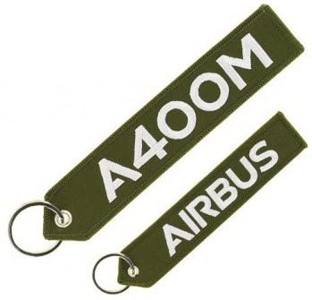 Airbus Schlüsselanhänger A400M remove before flight