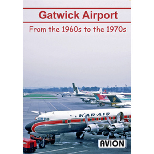 Gatwick Airport from the 1960s to the 1970s