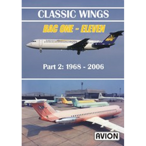 Classic Wings BAC One-Eleven Part 2 DVD